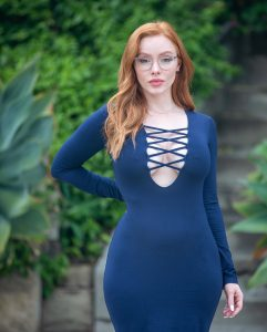 Austin White - Busty Red hair Model Nudes - Page 4 of 6