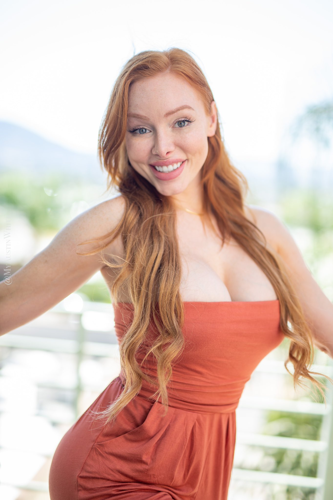 Austin White - Busty Red hair Model Nudes - Fapdungeon